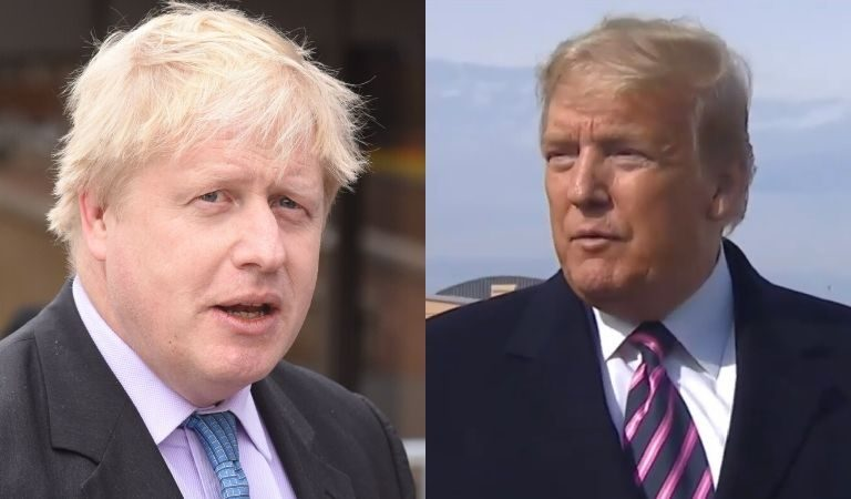 """UK Appears To Reject Trump's Offer To Help With Boris Johnson's Medical Care: """"Any Treatment He Receives Is A Matter For His Doctors"""""""