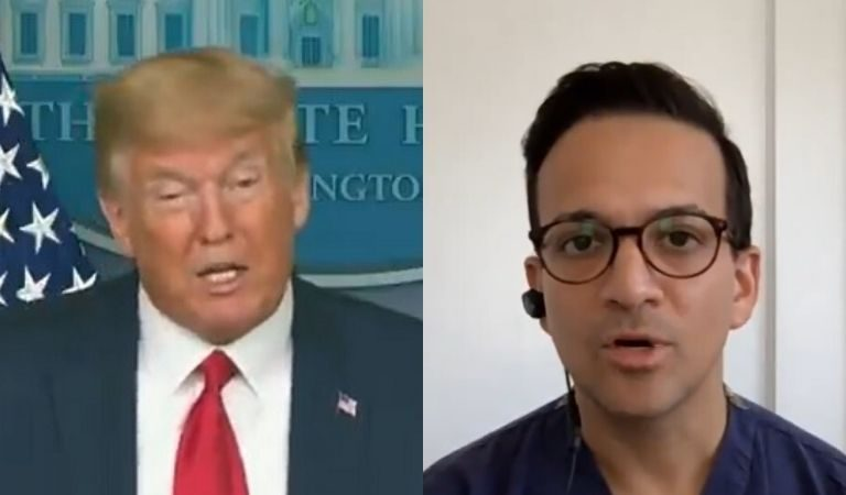 Doctor On MSNBC Says He Doesn't Know What Trump Is Talking About After POTUS Appeared To Claim That Taking Zinc Could Help With Coronavirus