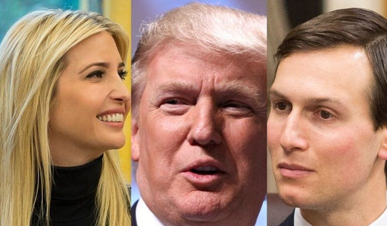 "Ivanka And Jared Reportedly Had ""Acted As Go-Betweens"" To Get Trump To Reach Out To Mike Pence After Capitol Mayhem"