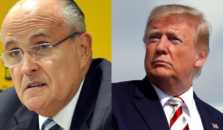 "Trump Reportedly Now Fears Giuliani, Other Lawyers Representing Him In Vote Challenge Are ""Fools That Are Making Him Look Bad"""