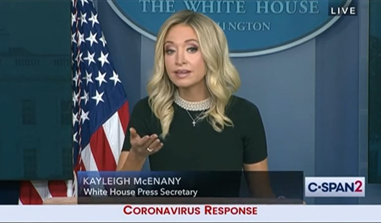 Reporter Torches McEnany After She Tries To Blame Obama For Lack Of PPE