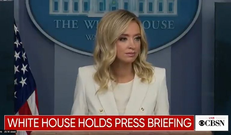 """Trump's Press Secretary Kayleigh McEnany Reportedly Dismisses Mass Testing As """"Nonsensical,"""" Though She Gets Tested Weekly"""