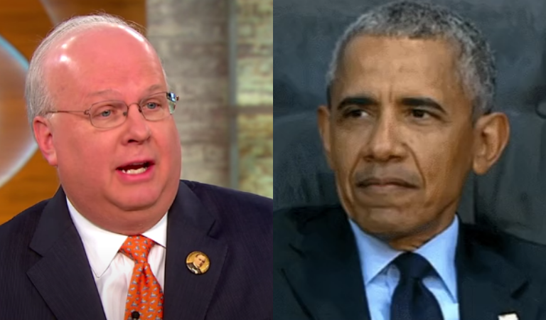 "Internet Erupted After Karl Rove Called Obama's Speech A ""Political Drive-By Shooting"" Against Trump"