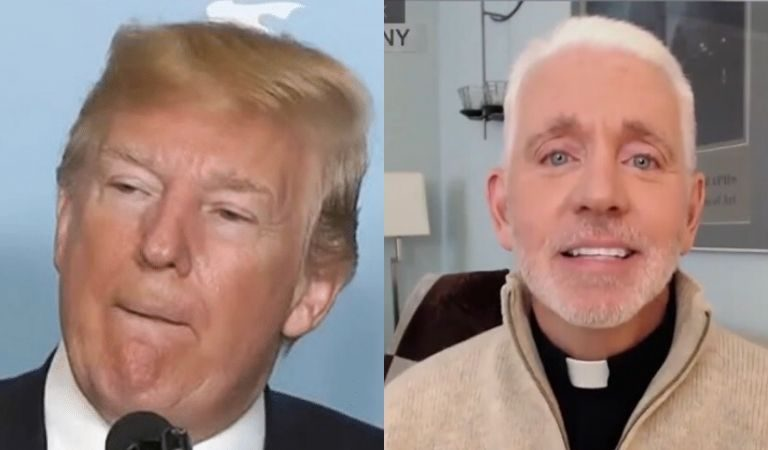 "Priest Reponds To Trump's Demand To Reopen Churches As Essential Businesses: ""Who Says That Religious Organizations Haven't Already Been Providing 'Essential' Services Without This Presidential 'Blessing?"""