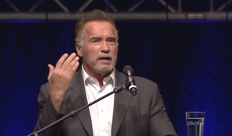 Arnold Schwarzenegger Torches Trump In His Own Commencement Address, Holds Up Fake Trump University Degree