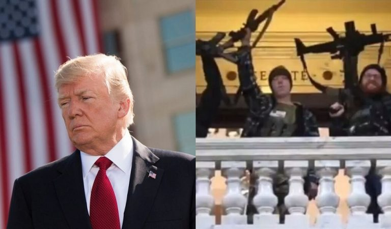 """Trump Calls On Michigan Governor To Give In To Demands Of Gun-Toting Protesters Who Stormed State Capitol: """"These Are Very Good People"""""""