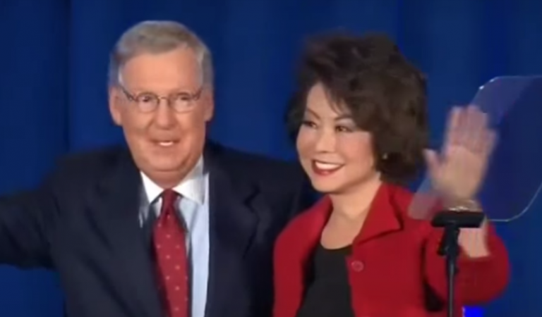 Trump Removed Inspector General Investigating Mitch McConnell's Wife, And McConnell Has Reportedly Vetted The Replacement
