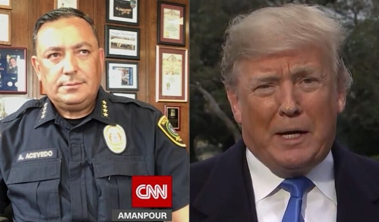 "Houston Police Chief To Trump: ""If You Don't Have Something Constructive To Say, Keep Your Mouth Shut"""