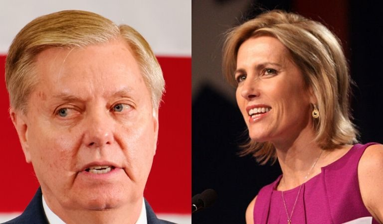 We Bet You Didn't Know: According To The NYT, Lindsey Graham And Laura Ingraham Once Dated