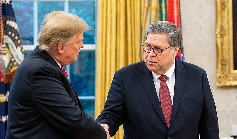 """Trump Appeared To Signal His AG To Take Action Against Political Rivals: """"Bill Barr Can Go Down As The Greatest Attorney General In The History Of Our Country, Or He Can Go Down As Just An Average Guy"""""""