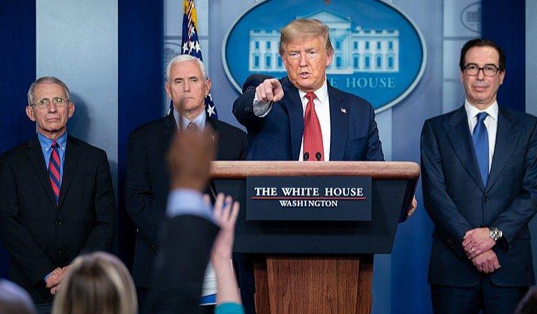 Trump Hotel Reportedly Failed Coronavirus Hygiene Test In Undercover Sting