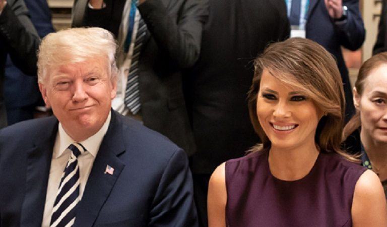 "Melania Cancels Her First Appearance With Trump Since Being Diagnosed With COVID And People Have Questions: ""So She's Still Sick And The One Who Went To The Hospital Feels Better Than Ever?"""