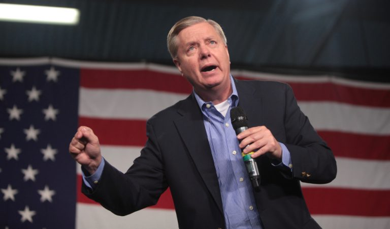 "Lindsey Graham Gets Called Out By Reporter For Apparently Holding A Police Union Endorsement With Only White Officers: ""What Does That Say?"""