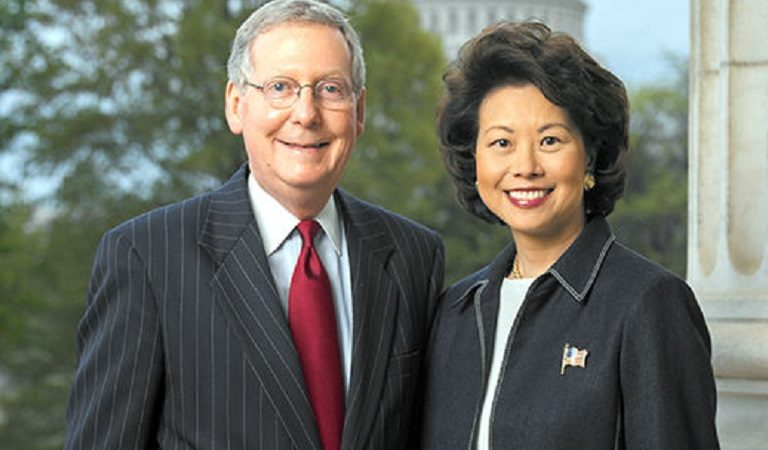 Inspector General Report Busts Mitch McConnell's Wife Using DOT Resources For Personal Errands And Family Business