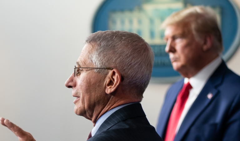 """Fauci Just Publicly Contradicted Trump's Boasts About Lower COVID Death Rate: """"It's A False Narrative To Take Comfort In A Lower Rate Of Death"""""""