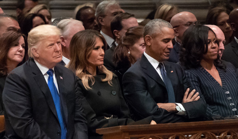 Obama Reportedly Unleashed His Anger At Trump's Fear Mongering Hate Speech During Private Event