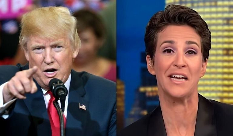 "Rachel Maddow Fired Off On Trump After He Thanked Her On Twitter: ""You Are Leading The Worst National Response In The World"""