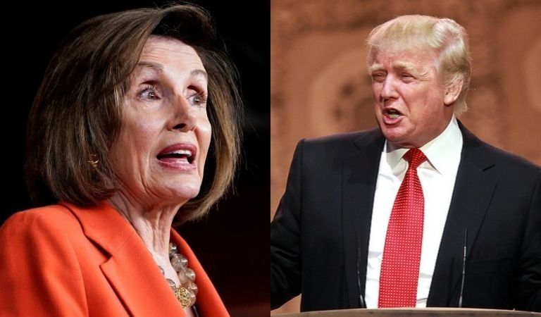 "Nancy Pelosi Expressed Her Excitement About Removing Trump From The White House: ""I Plan To Pull Him Out Of There By His Hair, His Little Hands, And His Feet"""