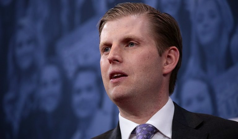Eric Trump Buried In Mockery After Citing His Father's Crowd Sizes As Proof Of A Rigged Election