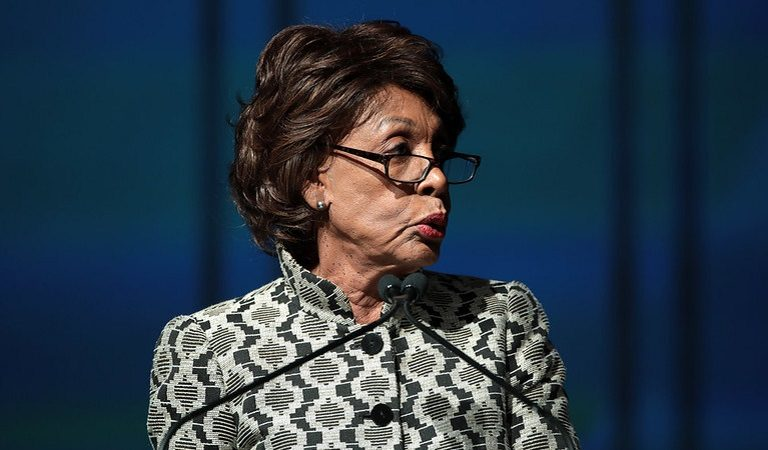 81-Year-Old Congresswoman Maxine Waters Gets Out of Her Car To Intervene As Black Driver Is Pulled Over By Police, To Make Sure Driver's Rights Are Protected