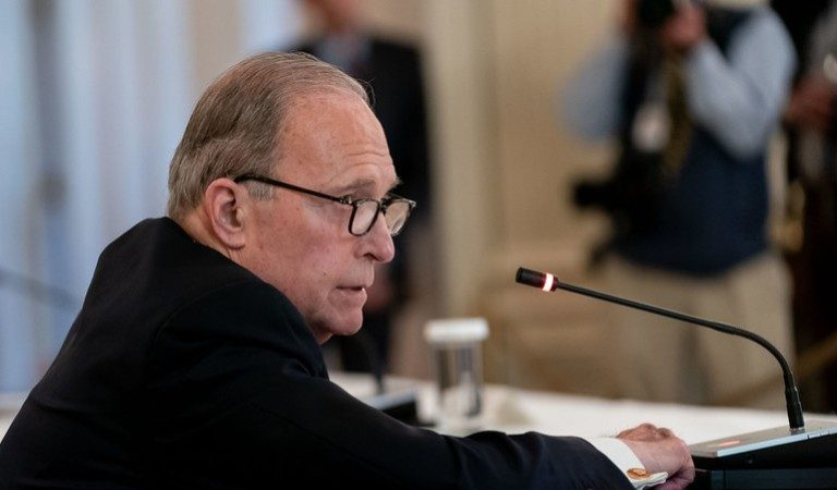 Trump Economic Advisor Larry Kudlow Bragged About His Wife Having An Easy Time Getting A Small Business Loan While Some Real Small Businesses Were Denied Help