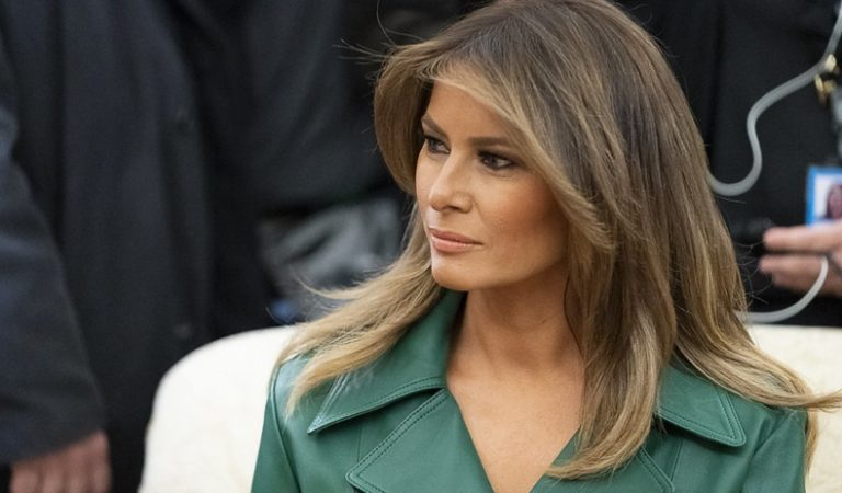 "A Report Claimed Melania Was Thinking About Penning A Memoir ""She's Not Done, Or Going As Quietly As You Might Expect"""