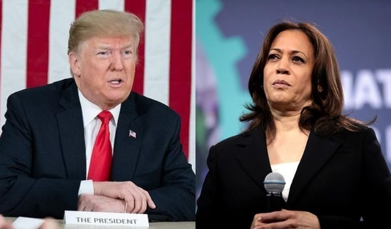 Trump Immediately Responds To Joe Biden's Vice Presidential Pick Of Kamala Harris With Ridiculous Attack Ad