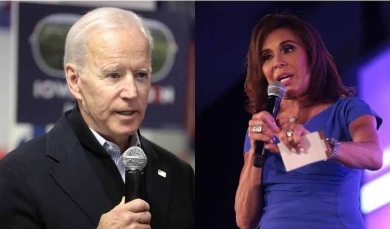 "Fox News' Jeanine Pirro Seemed To Imply That Something Bad Will Happen To Joe Biden Before November: ""Something Is Going To Happen Before The Election And He's Not Even Going To Be On The Ticket"""