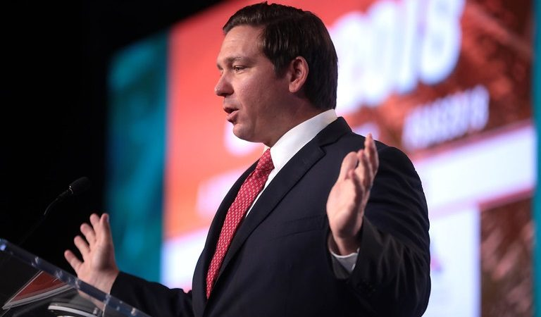 FL's Ron DeSantis Reportedly Taking Advice From Psychiatrist Who's Pushing Dangerous Medicine Amid Pandemic Disaster In His State