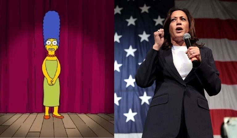 """Marge Simpson"" Trolls Senior Trump Advisor Over Comment That Kamala Harris Sounds Like Her: ""I Teach My Children Not To Name Call"""