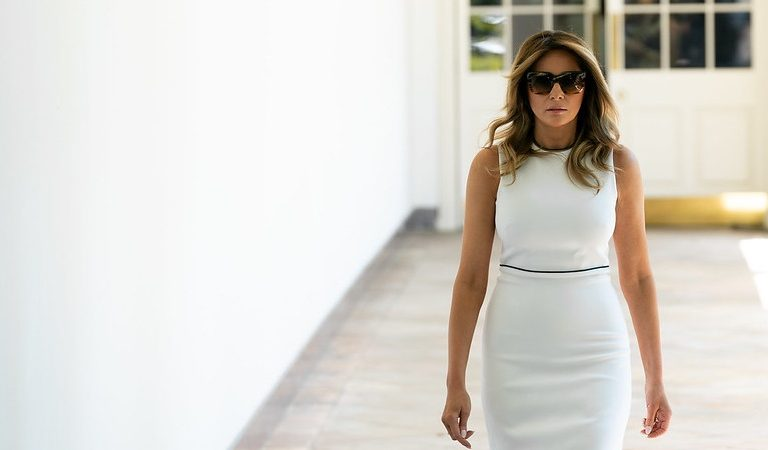 "Source Claimed Melania Trump ""Flat Out Refused"" To Move Into The White House Until The Bathroom Previously Used By The Obamas Had Been Ripped Out And Its ""Shabby"" Decor Was Replaced"
