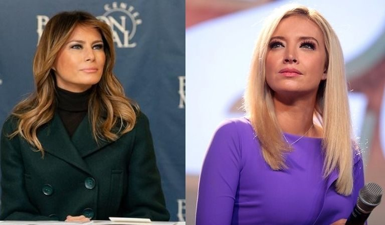 Source Claims Kayleigh McEnany Was Set To Become Melania's Chief Of Staff But Left First Lady Miffed When She Took A Different Job Instead