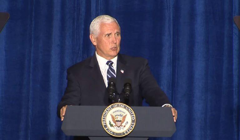 "At Arizona ""Cops For Trump"" Event, Mike Pence Tells Crowd ""We'll Make America Great Again, Again"""