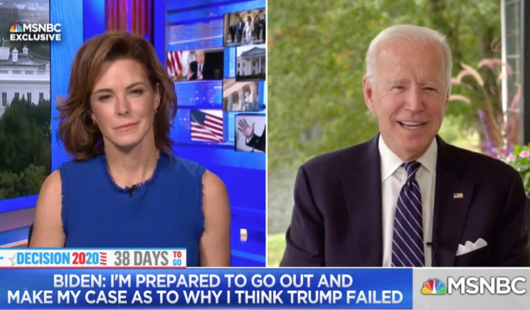 """Biden Says He's Not Worried About The Upcoming Debate Because Trump Is """"Not That Smart"""""""