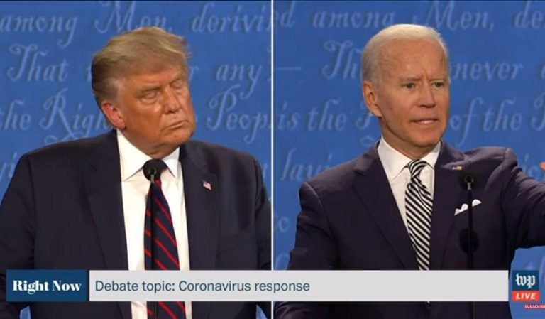 "Biden To Trump During The Debate: ""Will You Shut Up, Man?!"""