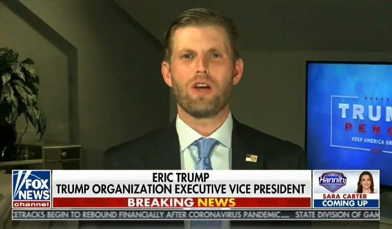 "Eric Trump Goes On Rant Against Obama, Mistakenly Says Former President ""Never Went Back To Chicago"" And That He ""Abandoned His City"""