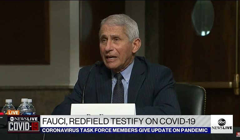 Dr Fauci Brilliantly Dismantles Rand Paul's Argument During Hearing