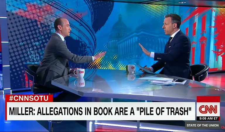 """Resurfaced Video Of Stephen Miller On CNN Shows Host Jake Tapper Cutting Him Off: """"I Think I've Wasted Enough Of My Viewers' Time"""""""