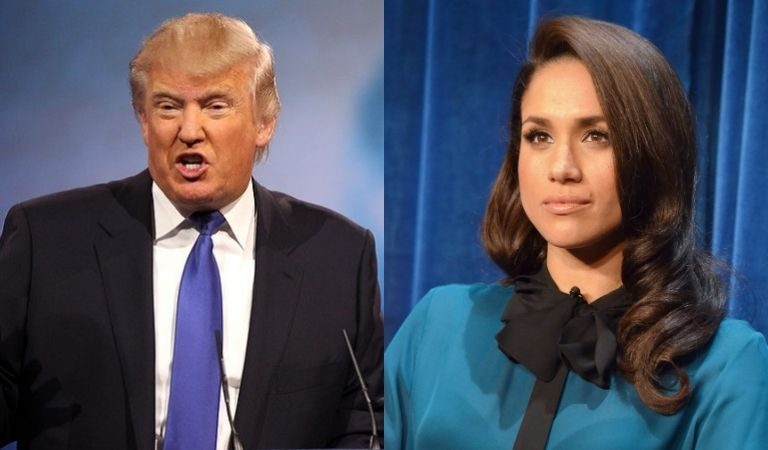 """Trump Slams Megan Markle After She And Harry Recorded What Appeared To Be A Pro-Biden Video: """"I'm Not A Fan Of Hers;"""" Wishes Harry Luck"""