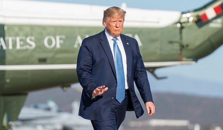 Video Of Trump's Walk To Air Force One Is Circulating On Twitter, Raising Further Questions About His Health