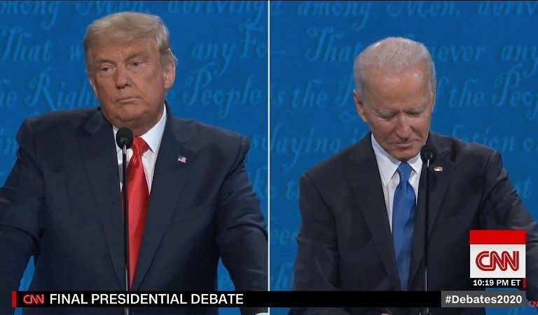 Watch As Trump Finally Gets His Mic Cut During The Debate