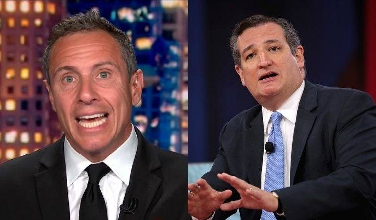 "Chris Cuomo Hands It To Ted Cruz, Reminds Him To His Face That Trump Once Called His Wife ""Ugly"""