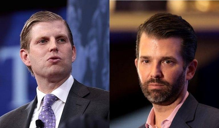 Trump Sons Appear To Be Hinting At Their Own Presidential Runs As Their Father Flails In The Polls