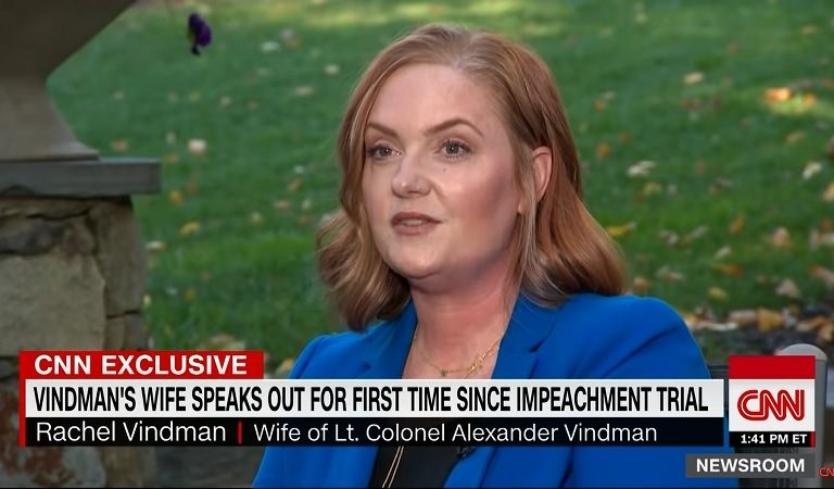 """Alexander Vindman's Wife Speaks Out About Trump: """"He Continued Putting Us In Danger"""""""