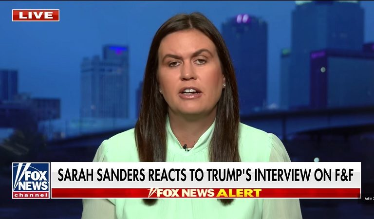 "Sarah Sanders Was Asked If Trump Would Work With Democrats On A ""Peaceful Solution"" And Her Answer Is Anything But Clear"