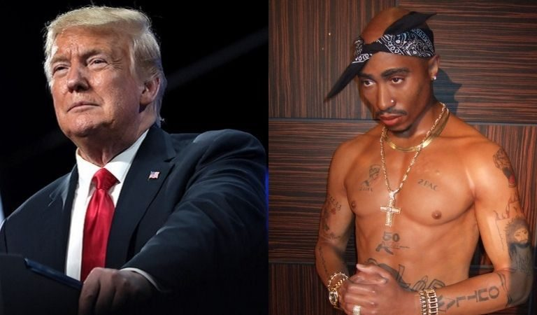 "Tupac Shakur's Stepbrother Responds To Trump, Rips Him For ""Disrespectful"" Jab At Kamala Harris"