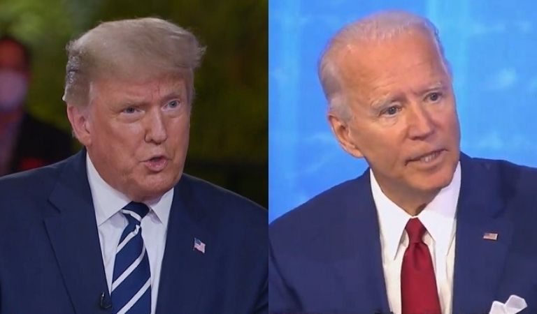 Americans Are Comparing Trump And Biden's Simultaneous Town Halls And The Difference Is Appalling