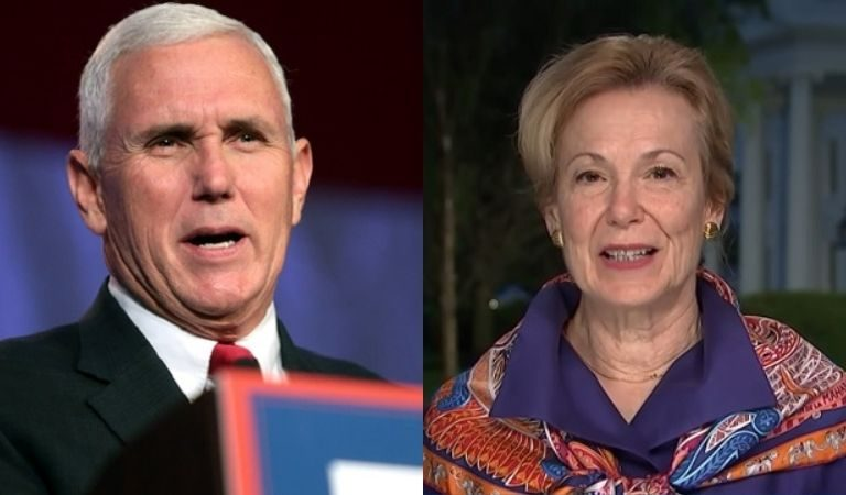 "Report Reveals That Dr. Birx Confronted Mike Pence And Demanded That He Fire Trump's ""Manipulative"" And ""Dishonest"" Herd Immunity Doctor"
