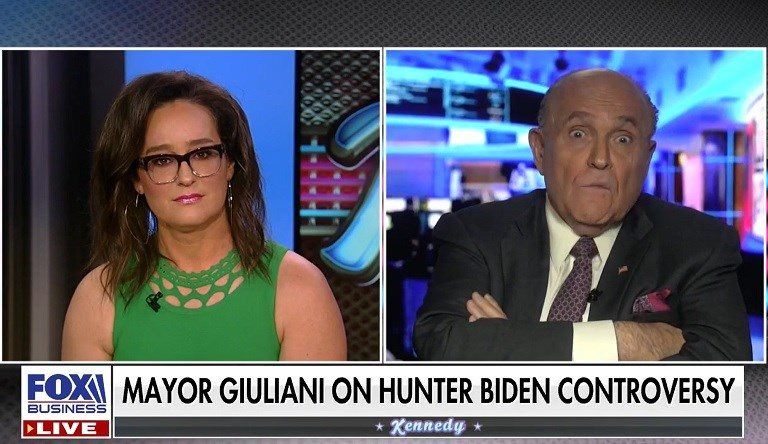 "Rudy Giuliani Flips Out At Fox News Host On Live TV: ""I Want You To Apologize To Me!"""