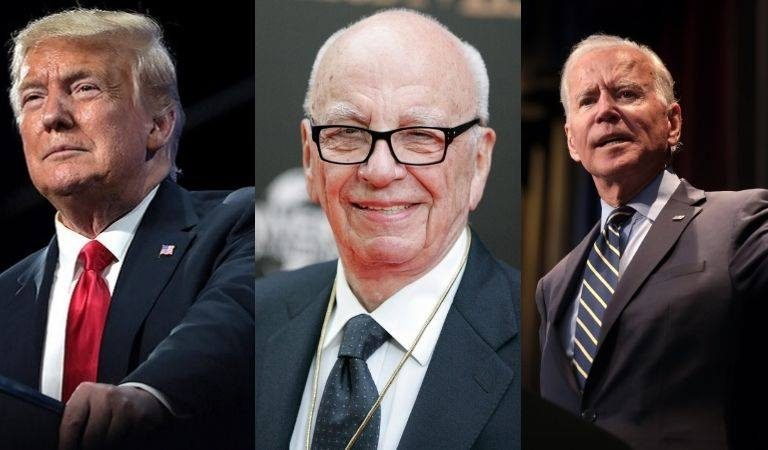Fox News Founder Rupert Murdoch Reportedly Said Behind Closed Doors That He Predicts Biden Will Win In A Landslide